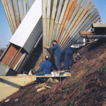 Werner Schmeiser, Anhaltender Verfall, Autobahnmeisterei Plabutschtunnel, Graz 1986/89
